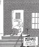 gary larson....when i need to laugh