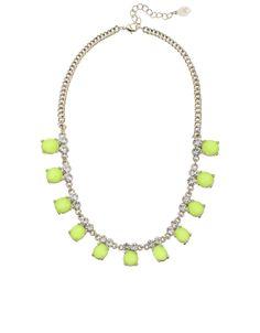 Primrose Stone and Sparkle Collar Necklace, Accessorize £15
