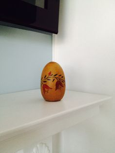 Wooden darning egg from Macungie; September 2014 $1