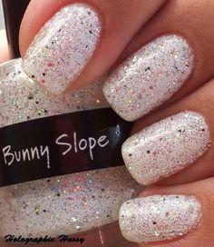 white & sparkles