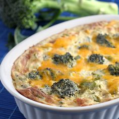 Potato and broccoli casserole