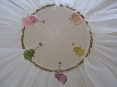 magical baby bed canopy crib mosquito net spring color  by katkuta, $290.00