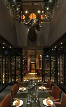 WAN INTERIORS Restaurants Toro Restaurant Dubai UAE