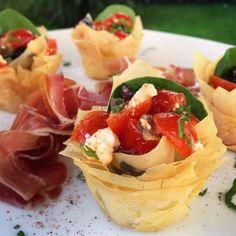 Tomates Mozza croustillantes - Papa en Cuisine