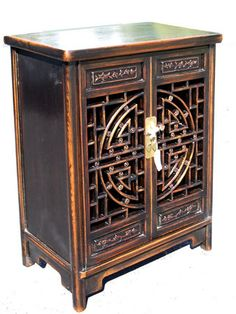 Oriental Furnishings - Carved Oriental Shoe Cabinet, $549.00 (http://www.orientalfurnishings.com/carved-oriental-shoe-cabinet/)