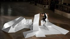 skate-able art feature California Skateparks built and designed for Nike Lunar One Shot campaign