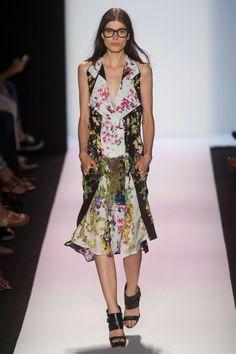 Fug Girls: Heidi Klum, Sheer Panels at BCBG - The Cut