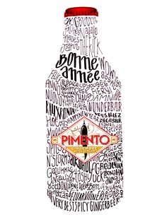 Pimento wishes you a Great and Spicy New Year! Ginger Beer, Non Alcoholic, Vodka Bottle, Spicy, Cocktails, Alcohol Free, Cocktail, Ginger Ale, Smoothies