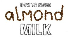 This video shows you how to make you very own batch of delicious and nutritious almond milk.
