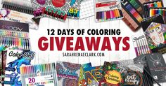 12 Days of Coloring Giveaways (Grand Prize)