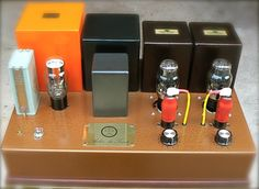 Integrated Tube Amp 2A3 S.E. by Atelier du Triode