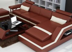 The Selvatore-3SC leather sofa has an innovative design with it's unique armrest but still maintains the modern and stylish design that would be suitable to any living space.