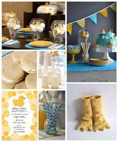 Rubber Ducky Baby Birthday Ideas