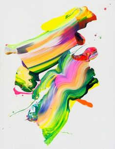 Stunningly colourful painting. I heart a lot.