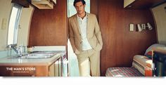 Neiman Marucs in GQ: Theory Men's Spring 2014 Ad