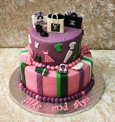 born to shop cake 2