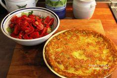 Veggie-ssima: Farinata con zucchine...la frittata di ceci!