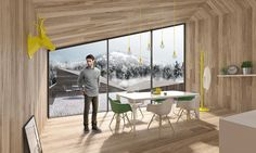 Rendering for Smartvoll Architects Interior Rendering, Architects, Photos