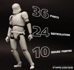 3ders.org - Build a 3D printed Star Wars Stormtrooper using Autodesk Tinkerplay app and Blender | 3D Printer News & 3D Printing News