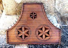 psalterion cithare - instrument de musique du moyen age - musicien et musique médiévale - Les Voyageurs du Temps