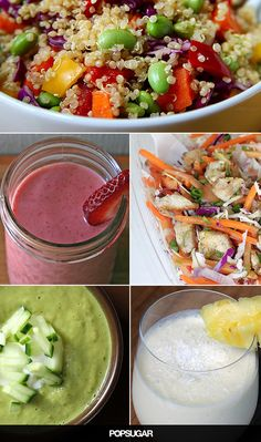 Eat your way to a less bloated belly with these delicious recipes! Plus my lean tight clients use teas, drinks and ideas to use and exercises to flatten your stomach…check out the posts! https://victoriajohnson.wordpress.com