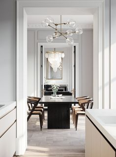 Working in period properties can be so rewarding. High ceilings, grand proportions and oodles of nat - Interior Design Examples Interior Design Living Room, Living Room Decor, Living Spaces, Bedroom Decor, Interior Design Trends, Dining Room Inspiration, Furniture Inspiration, Style Inspiration, Dining Room Design
