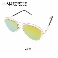 02f08efd411aa Pilot mens sunglasses brand designer Driver Mirror Sun glasses Male Fishing Female  Outdoor Sports Eyewear For
