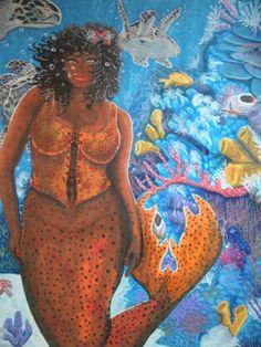 Beautiful mermaids pictures - Hot sexy mermaid pictures posts beautiful mermaid art from many different mermaid artists. Mermaid Stories, Mermaid Board, Mermaid Drawings, Mermaid Pictures, Black Mermaid, Mermaids And Mermen, Merfolk, African Diaspora, African American Art