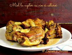 miel la cuptor Jacque Pepin, Romanian Food, Tandoori Chicken, Bacon, Pork, Food And Drink, Cooking, Ethnic Recipes, Crafts