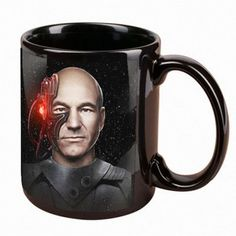 Star Trek The Best of Both Worlds Mug  Your resistance to caffeinated beverages is futile!  You will drink much coffee out of this #StarTrek mug!