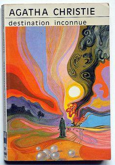 Agatha Christie : destination inconnue, cover design Tom Adams, 1979