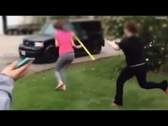 It's good that she stuck up for herself... but that went to far with the shovel!