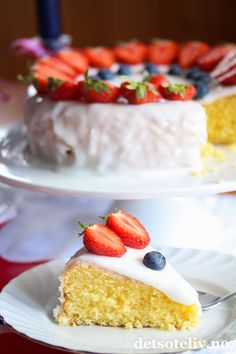 Vanilla Cake, Cereal, Food Porn, Food And Drink, Pie, Frisk, Baking, Breakfast, Desserts