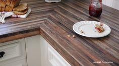 Best Wooden Kitchen Accessories Toy 2020 - Home Comforts Narrow Kitchen, Wooden Kitchen, Kitchen Reno, Kitchen Remodel, Kitchen Ideas, Black Kitchen Countertops, Formica Countertops, Formica Laminate, Wood Laminate