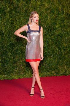 Tony Awards 2015: Gigi Hadid on the Red Carpet – Vogue
