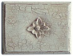 Crackle Finish- 4 easy steps to making your boring old furniture into exciting... Old furniture!