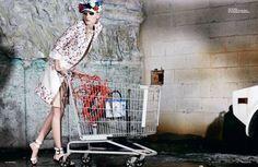 Shakti: Aline Weber in 10Magazine Winter/Spring 2012/13 | Editorial