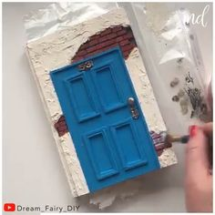 Fun Crafts For Teens, Diy Crafts For Gifts, Cute Crafts, Hobbies And Crafts, Diy For Kids, Diy Air Dry Clay, Abstract Portrait Painting, Paper Art, Paper Crafts