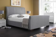 Tuscany 3 Upholstered bed £329 Available from http://www.time4sleep.co.uk/