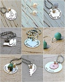 Great necklaces for my cute young women.