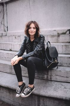 20 Stylish Ways to Wear Backpacks glamhere.com The leather backpack has become an uber stylish and chic accessory for every woman in every age.