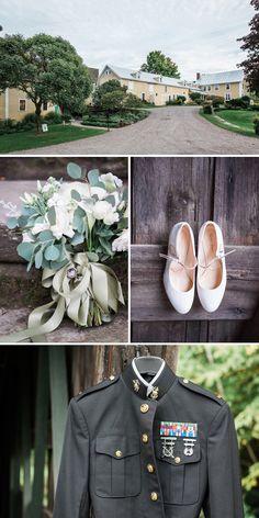 Michelle & Jared Real Vermont Wedding Inspiration   Rustic Elegant Barn Wedding The Round Barn   Vermont Bride Magazine