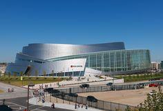 BOK Center in Oklahoma | Designed by Pelli Clarke Pelli Architects