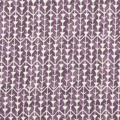 Carolina Irving's textiles, Amazon Aubergine