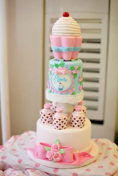 59 best cupcake themed party images on pinterest anniversary