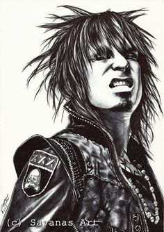 Nikki Sixx Signed Print by SavanasArt on Etsy Nikki Sixx, Sign Printing, Rock Music, Trending Outfits, Drawings, Stencils, Band, Vintage, Etsy