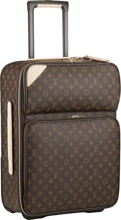 f15aebad7 Louis Vuitton Pegase 55 Monogram Canvas, rolling carry on Maletas Louis  Vuitton, Bolsas Importadas