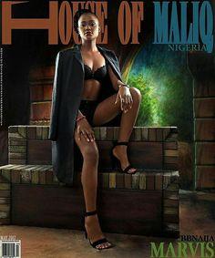 Marvis of #bbnaija covers @houseofmaliqmagazine magazine.. #fashion #styleblogger #ameriesblog #ebfablook #Emmanuelsblog #fashion #styleblogger #fashionblogger