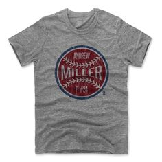 Andrew Miller Ball R Cleveland MLBPA Officially Licensed Tshirt Unisex S-2XL