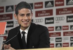 Welcome James Rodriguez